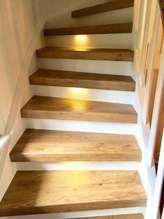 Treppe renovieren mit Vinylstufen von Treppenrenovierung Schran