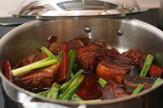 Braised Pork Belly Korean/Chinese Style