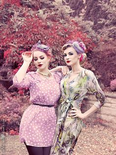 The Vintage Romance & Anna Chocola Coquette Pillbox hats