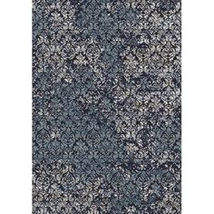 Crescent Drive Rug Company Eclipse Dark Blue Area Rug
