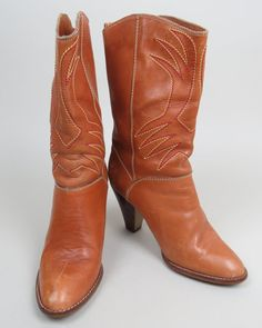 vintage 70s tan southwestern leather by gypsiesrisingvintage