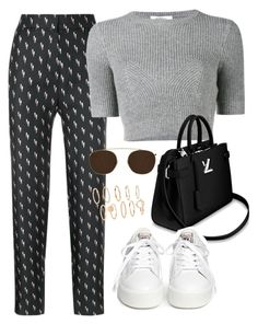 """""""Sin título #4259"""" by camilae97 ❤ liked on Polyvore featuring Victoria, Victoria Beckham, Valentino, Ash and Illesteva"""