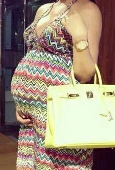 Maternity Summer outfit
