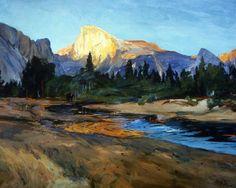 Half Dome, Yosemite, Karl Yens (1868-1945), Irvine Museum