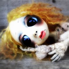 Loopy Gothic Art Doll Ooak Doll Julie Ann by loopyboopy on Etsy, $275.00