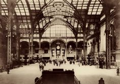 New York's Pennsylvania Station was not only a architectural masterpiece, but an engineering marvel, connecting New York City to the mainland under the mighty Hudson River.