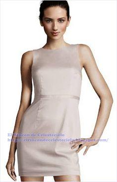 Patrones de vestido ajustado con efecto levantacola - El Rincon De Celestecielo