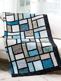 Find quilt patterns in all skill levels! These quilting patterns are exclusively at Annie's, so you'll only find them here! - Page 1 Beginner Quilt Patterns, Quilting For Beginners, Quilt Block Patterns, Beginner Quilting, Patchwork Patterns, Sewing Patterns, Big Block Quilts, Lap Quilts, Quilt Blocks