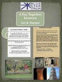 A DAY TOGETHER...FARA SABINA...ART..NATURE ...AND FOOD!