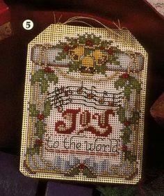 Joy to the World cross-stitch
