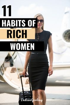 Here are 11 financial habits of successful and rich women who always have money. Build these money habits to produce successful results in life and always have more money than you need. Great personal finance and money-saving tips to plan for your future! #financialhabits #successfulwomen #buildwealth #moneymindset