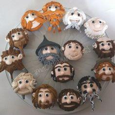 hobbit cupcakes from imaginarium cakes