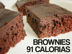Brownies (91kcal por fatia)