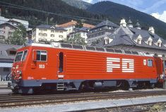 HGe 4/4 II 103 (Foto: Manfred Möldner) Chur, Bbc, Swiss Railways, Train, Photos, Locomotive, Photo Illustration, Zug, Strollers