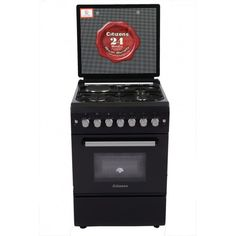 Citizens CF-6631-MOGIT 60x60 Free Standing Gas Cooker 3Gas+1Elect  Ebony series Free Standing Gas Cookers, Citizen, Design