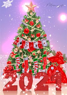 Christmas Tree Gif, Christmas Scenery, Merry Christmas Images, Merry Christmas And Happy New Year, Christmas Pictures, Christmas Holidays, Christmas Decorations, Merry Christmas Greetings, Christmas Blessings