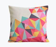 """Atmosphärisch Kissen geometrisch """"Triangle""""▲▲▲ von ▲▲▲Atmosphärisch▲▲▲ auf DaWanda.com"""