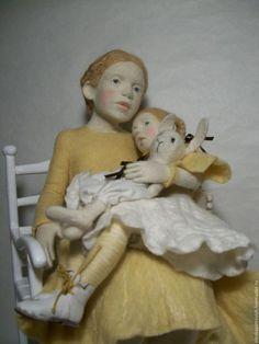 Needle felted doll Elena Petrovich
