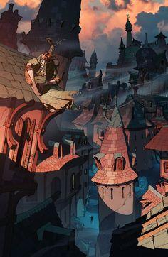 Dragon Age Inquisition concept art by Matt Rhodes