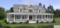 House plans with wrap around porch...aka MY DREAM HOME!!!!!
