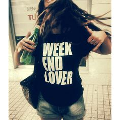 Weekend lover #cool #crazy #tshirt #weekend #lover