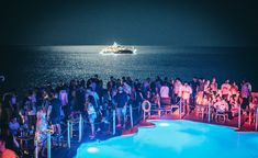 Club Mykonos, Dj Party, Best Club, Music Industry, Electronic Music, Night Club, Swimming Pools, Concert, Swiming Pool