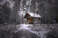 Häähnintupa Hankasalmen ja Konneveden rajalla pistää autiotuvan käsitteen uusiksi   #retkipaikka #cabin #cabinporn #nature #finlandnaturally #autiotupa
