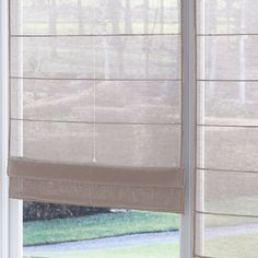 Newest Snap Shots voile Roman Blinds Style Roman blinds are a favorite favourite among conscious homeowners as they give a stylish, stylish and affordable solution Curtains Window Treatments, New Homes, Blinds, Window Coverings, Curtains, Home Deco, Skylight Covering, Store Bateau, Curtains With Blinds