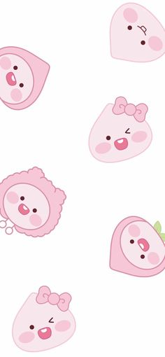 Peach Wallpaper, Korea Wallpaper, Cute Pastel Wallpaper, Cute Disney Wallpaper, Cute Cartoon Wallpapers, Pretty Wallpapers, Wallpaper S, Iphone Wallpaper Kawaii, Cute Walpaper
