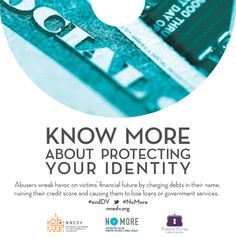 Know more about how personal information should be handled to help increase your safety & security: http://nnedv.org/resources/safetynetdocs.html #endDV #NoMore
