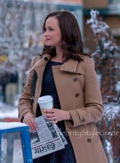 Rory Gilmore Is A Classic And So Is Her Double Breasted Trench Coat