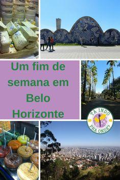 Roteiro para um fim de semana (ou 2 dias) em Belo Horizonte, a linda e deliciosa capital mineira! Pampulha, Mirante das Mangabeiras, Praça da Liberdade, Mercado Central e muito mais!