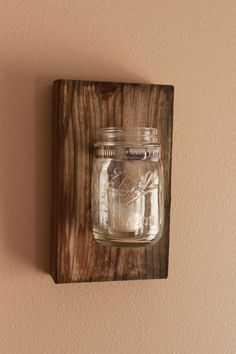 Did mason jar decor