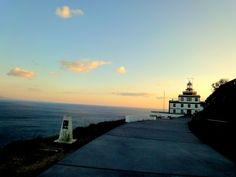 http://www.galicia360.com/comarca-de-fisterra/faro-de-fisterra-atardecer.html  'El Faro de Finisterre' is the most important of the Costa da Morte, then with his guiding light to ships navigating in these dangerous waters by storms that occur, and low or reefs that exist and can cause the sinking of ships . The current building in 1868 and is the most visited place in Galicia after Santiago Cathedral. Also built in the late S. XII the Church of Santa María das Areas and where the image of…