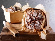 Eltefritt rugbrød Bread Dough Recipe, Scones, Bakery, Cheese, Ethnic Recipes, Food, Pastries, Den, Artisan Bread