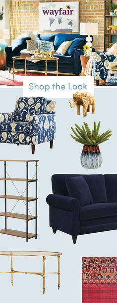 We took the guessing out of home decorating. Get inspired by these eclectic bohemian home styles, and then shop the look! These one-of-a-kind pieces add worldly style to any space, whether you're in your first apartment or your dream home. Shop styles for every space at up to 70% OFF every day, and enjoy FREE shipping over $49 (even the big stuff!). Sign up to see more!