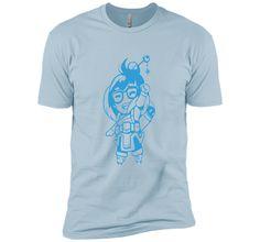 Overwatch Mei Sketch Spray Tee Shirt