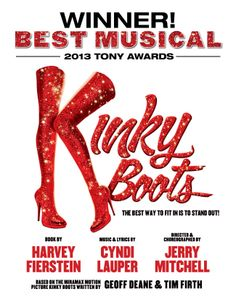 KINKY BOOTS is coming to San Diego September 23-28, 2014!