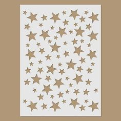 Stars Stencil by StencilDirect on Etsy