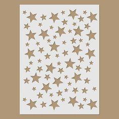 Plantilla de estrellas