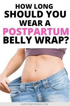 You've gone out of your way to purchase a new postpartum belly wrap, also known as a postpartum girdle, and you are absolutely clueless on how to use it. It didn't come with any instructions, just the packaging, maybe a little picture and the receipt in the box. But what about the instructions? How long do you wear this postpartum belly wrap? How do I even put it on? After reading this article, you'll have a better understanding as to how long you should wear the belly wrap for plus exrtra… Best Postpartum Belly Wrap, Post Baby Belly, Belly Binding, Improve Self Confidence, Diastasis Recti, Mommy Workout, Postpartum Recovery, Abdominal Exercises, Pelvic Floor
