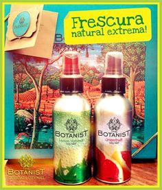 Amigos y amigas de THE BOTANIST les presentamos el BODY MIST dos refrescantes aromas para perfumen su piel con la fragancia de la naturaleza en TORONJA y LIMON VERBENA cumpliendo nuestra promesa de innovación, esperamos sean de su agrado!!