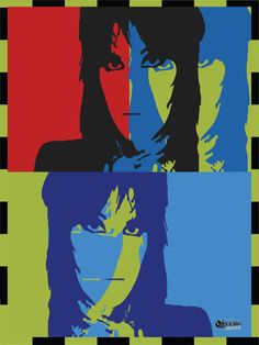 This is an open edition unframed poster/print and these bad boys are printed on archival, acid-free paper with Vibrant colors to make a bold statement in Joan Jett, Sign I, Rock Music, Bad Boys, Rock N Roll, Vibrant Colors, Poster Prints, Heart, Creative