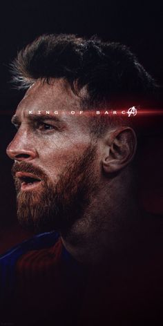 Messi wallpaper with King of Barcelona caption. This HD wallpaper is suitable for all kind of mobile phones. Lional Messi, Messi Soccer, Messi And Ronaldo, Cristiano Ronaldo 7, Lionel Messi Barcelona, Barcelona Football, Lionel Messi Biography, Fc Barcelona Wallpapers, Lionel Messi Wallpapers