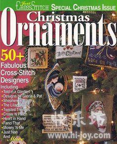 Gallery.ru / Фото #1 - Just Cross Stitch Ornaments 1997(Christmas Ornamen - Ka