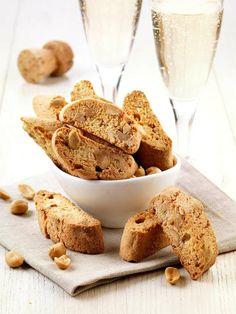 Cantuccini salati alle arachidi - montersino