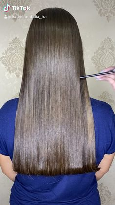 Trendy Hairstyles, Straight Hairstyles, Braided Hairstyles, Long Silky Hair, Super Long Hair, Hair Color Pictures, Color Menta, Long Hair Video, Corte Y Color