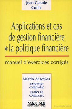 la faculté: Télécharger Livre : Applications et Cas de Gestion Financière