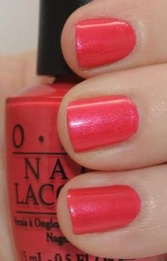 OPI Come to Poppy Nail Polish by willa