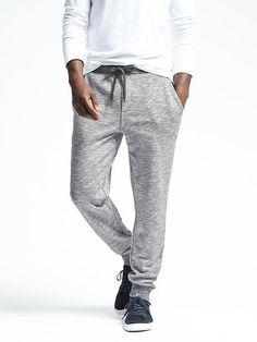 French Terry Sweatpant men's fashion / men's style